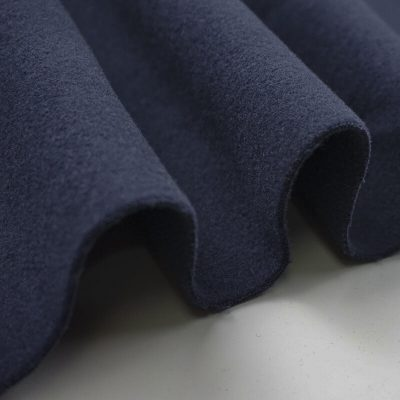 Double side brushed TR blend fabric ready goods