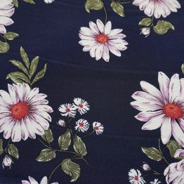 120D Viscose Rayon Crepe (flower)