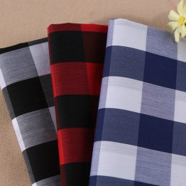 yarn dyed ready goods Cotton Nylon Spandex Plaid