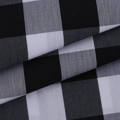 yarn dyed ready goods Cotton Nylon Spandex Plaid