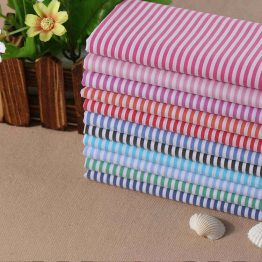 yarn dyed ready goods Cotton Nylon Spandex Stripe