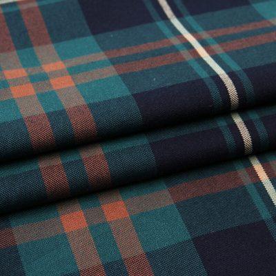 Yarn dyed TR Twill Plaid ready goods