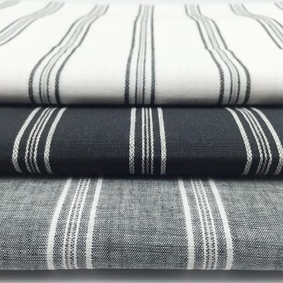 yarn dye cotton linen blend fabric ready goods