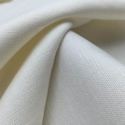 Custom printing Cotton Linen Blend fabric