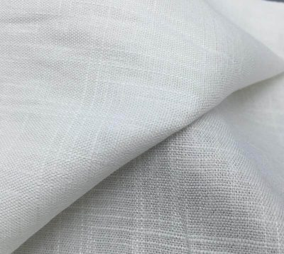 custom print rayon linen slub