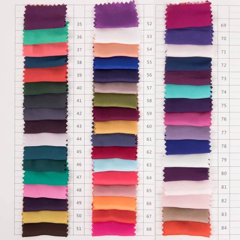 color chart 50d satin chiffon -1