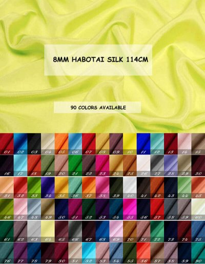 8MM HABOTAI SILK
