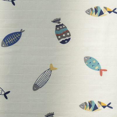 Double Cotton Guauze-Fish-1
